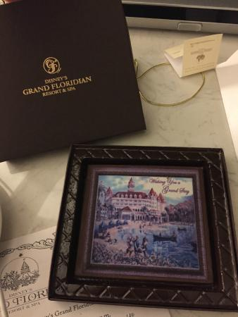 Disney's Grand Floridian Resort & Spa: Free Chocolate in the room the first night