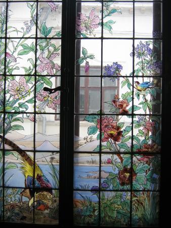 Tatarstan National Library: окна в японском стиле