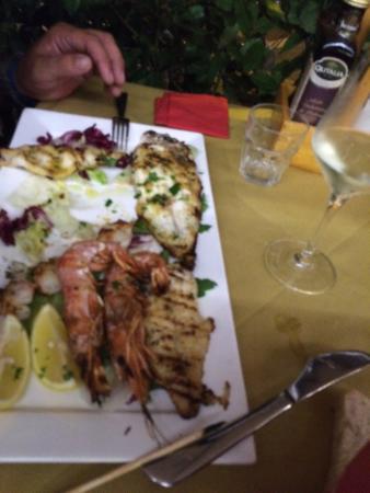Fratelli la Bufala - Rimini Mare: Ottimo posto fronte mare, cucina ottima prosecco ok. Abbiamo consumato risotto, frittura, grigli