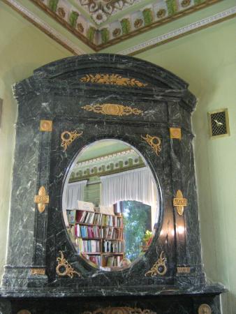 Tatarstan National Library: камин в комнате Зинаиды Ушковой