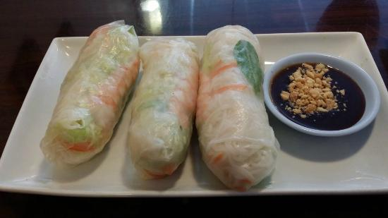 Chai Thai Cuisine: Shrimp Summer rolls