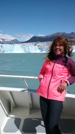 Viedma Glacier: Feliz de estar aquí!