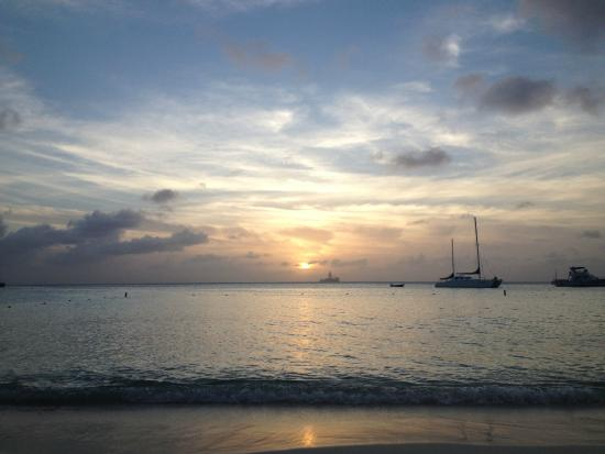 Barcelo Aruba: tramonto a palm beach