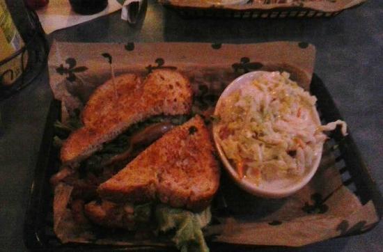 Woody's Roadside: Good sandwich, coleslaw was just o.k.