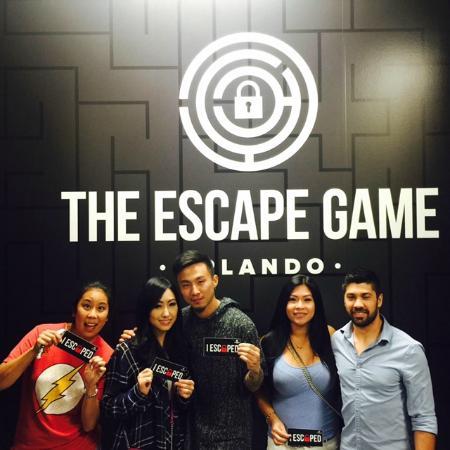 The Escape Game Orlando: We ESCAPED!!