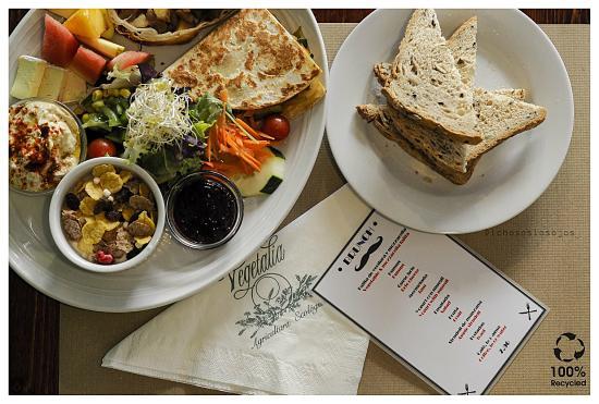 Restaurant Vegetalia Raval: Brunch