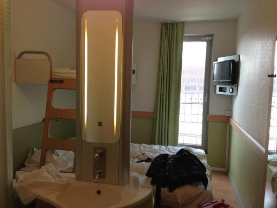 Hotel Ibis Budget Brugge Centrum Station: Quarto