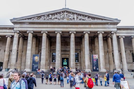 Britisk Museum: Outside the British Museum