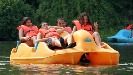 Lewis Morris Park: Paddle Boat