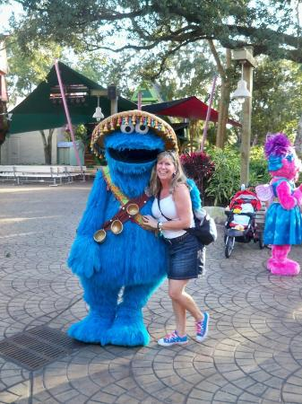 Busch Gardens: Cookie Monster