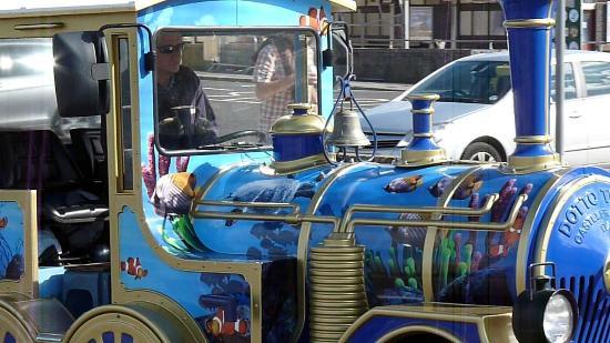 وايموث, UK: Land Train - Sea Life Weymouth - tractor unit
