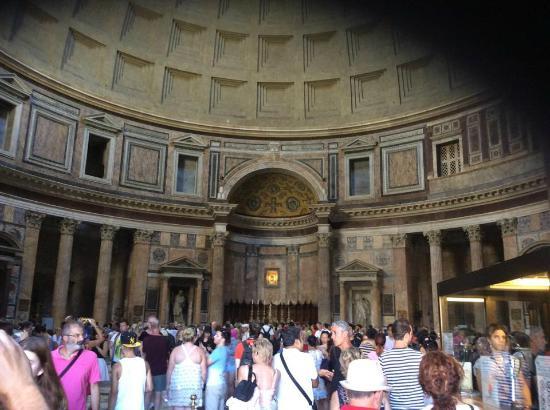 Pantheon: intérieur