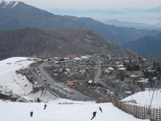 Lodge Andes: Farellones onde fica a pousada