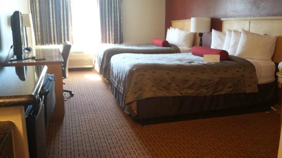 Clackamas Inn & Suites : Comfortable beds