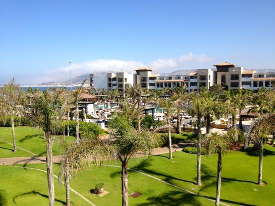 Hotel Riu Palace Tikida Agadir: Vue du balcon