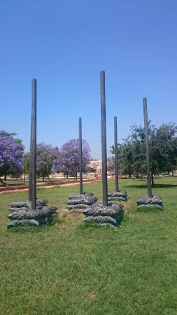 Antiguo Cauce del Rio Turia: местная скульптура