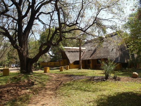 Maramba River Lodge: Zum Restaurant