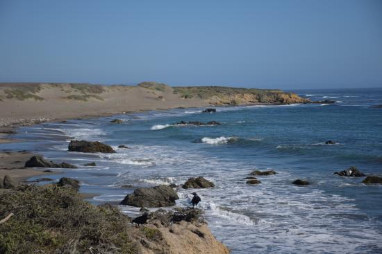 Coastal Discovery Center at San Simeon Bay (Monterey Bay National Marine Sanctuary): Looking south