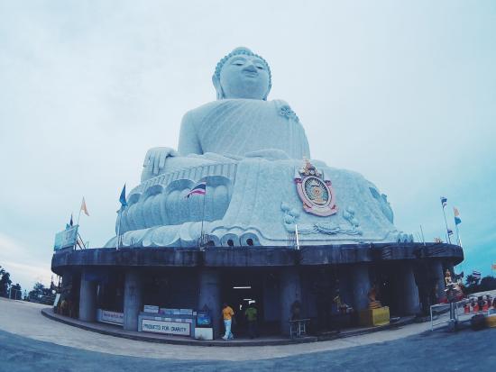Phuket Buddha: The temple...