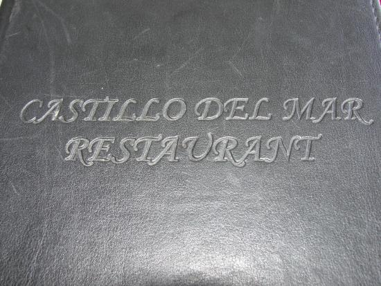 Castillo del Mar: Nome do Restaurante