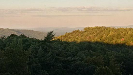 Leatherwood Mountains : View from screened in back porch