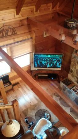 Leatherwood Mountains : view from loft