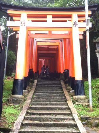 Fushimi Inari: Inizio del percorso