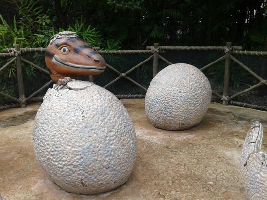 Universal Studios Singapore: Jurassic park
