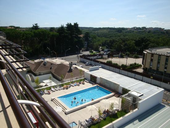 Piscine adgio picture of adagio rome vatican rome for Rome hotel piscine