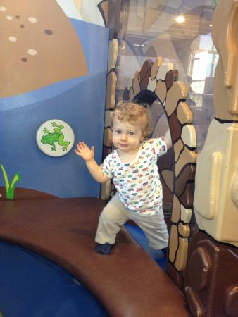 Bay Area Discovery Museum: A two year old loving the