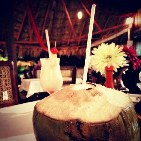 coconut and rum