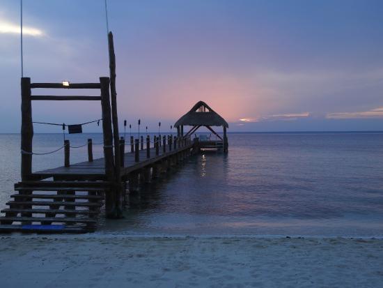 Secrets Aura Cozumel: The Pier ...  Scuba trips by day, romantic dinners by night!