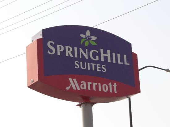 SpringHill Suites by Marriott Salt Lake City Downtown: Outdoor sign