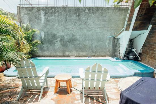 Hostel Pachamama: One of our two pools