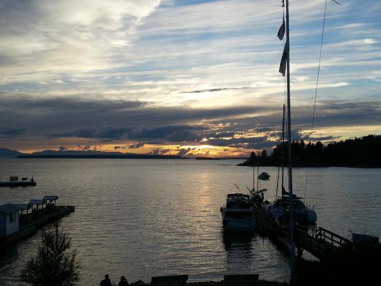 Historic Lund Hotel: Great sunsets!