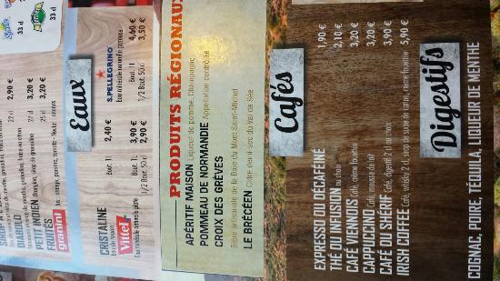 Buffalo Grill Carte Boisson.Buffalo Grill Picture Of Buffalo Grill Avranches Tripadvisor