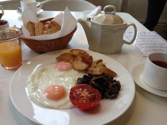 Marlborough House: perfect organic breakfast!