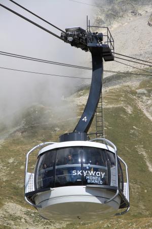 Punta Helbronner - Skyway Monte Bianco: Skyway