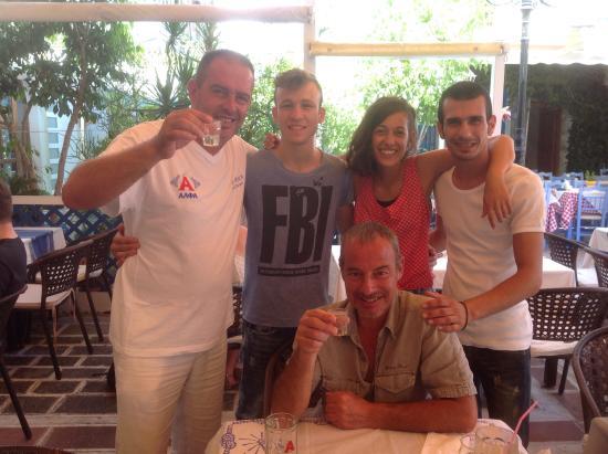 La Prima: Stefano et son équipe