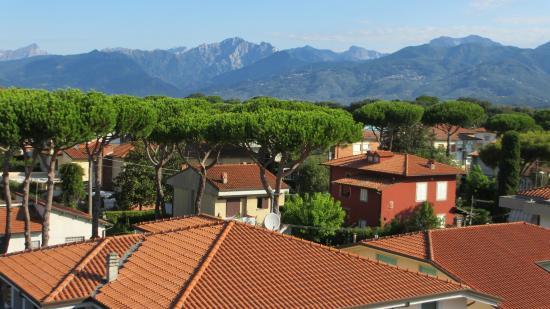 Hotel Fortunella: Vista dal terrazzo dell'Hotel