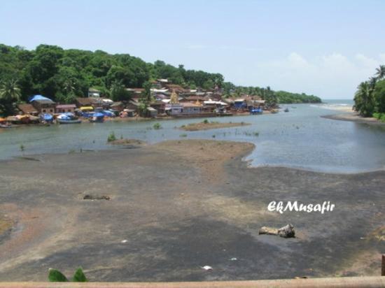 Konkani fishing village.