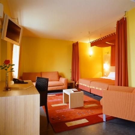 Hotel Le Jules Verne : suite duplex