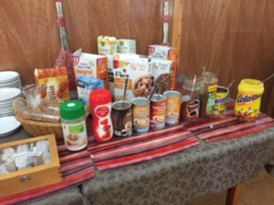 Hotel Montana: Desayuno buffet