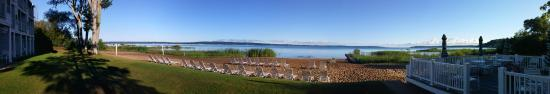 North Shore Inn: View of the East Traverse Bay