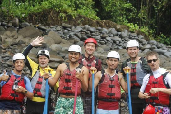 Valle Dorado: White Water Rafting