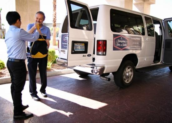Hampton Inn & Suites Las Vegas South: Shuttle Services Available