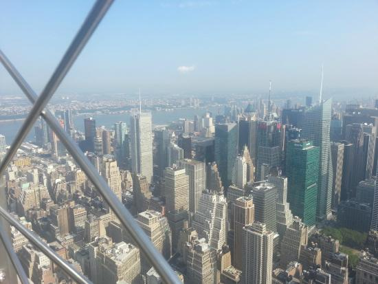 Empire State Building: Views from the 86th floor.