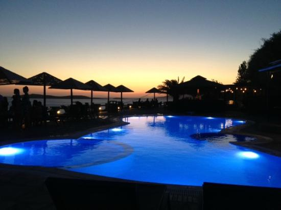 Just one of the perfect Blue Bay Village Andros sunsets
