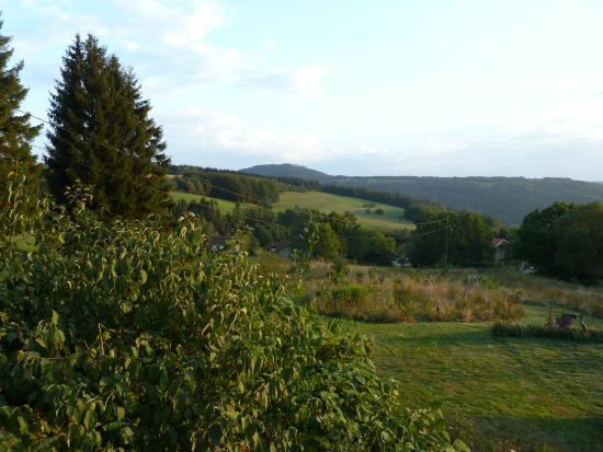 La Colline Aux Loups : great terrace views