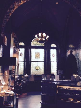 Museum of Early Trades & Crafts: Looks like a church but was a library